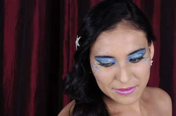 Sesion de fotos DF, maquillaje y peiando