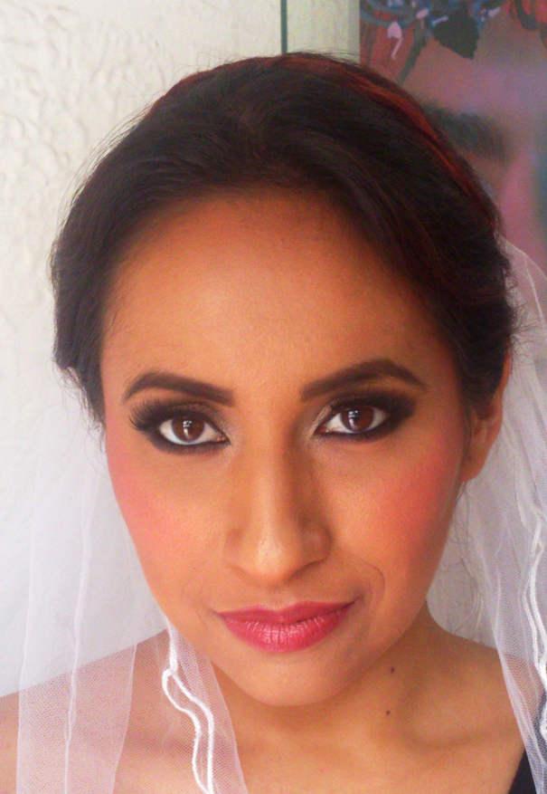 Maquillaje y peinado profesional para novias DF