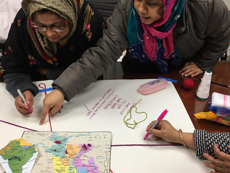 Mapping where we are from