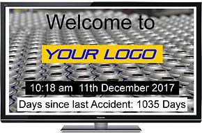 Advertising Information Display