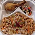 Nasi Goreng with Chicken