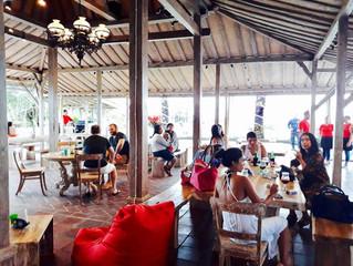 New bar & restaurant at Kedungu Beach