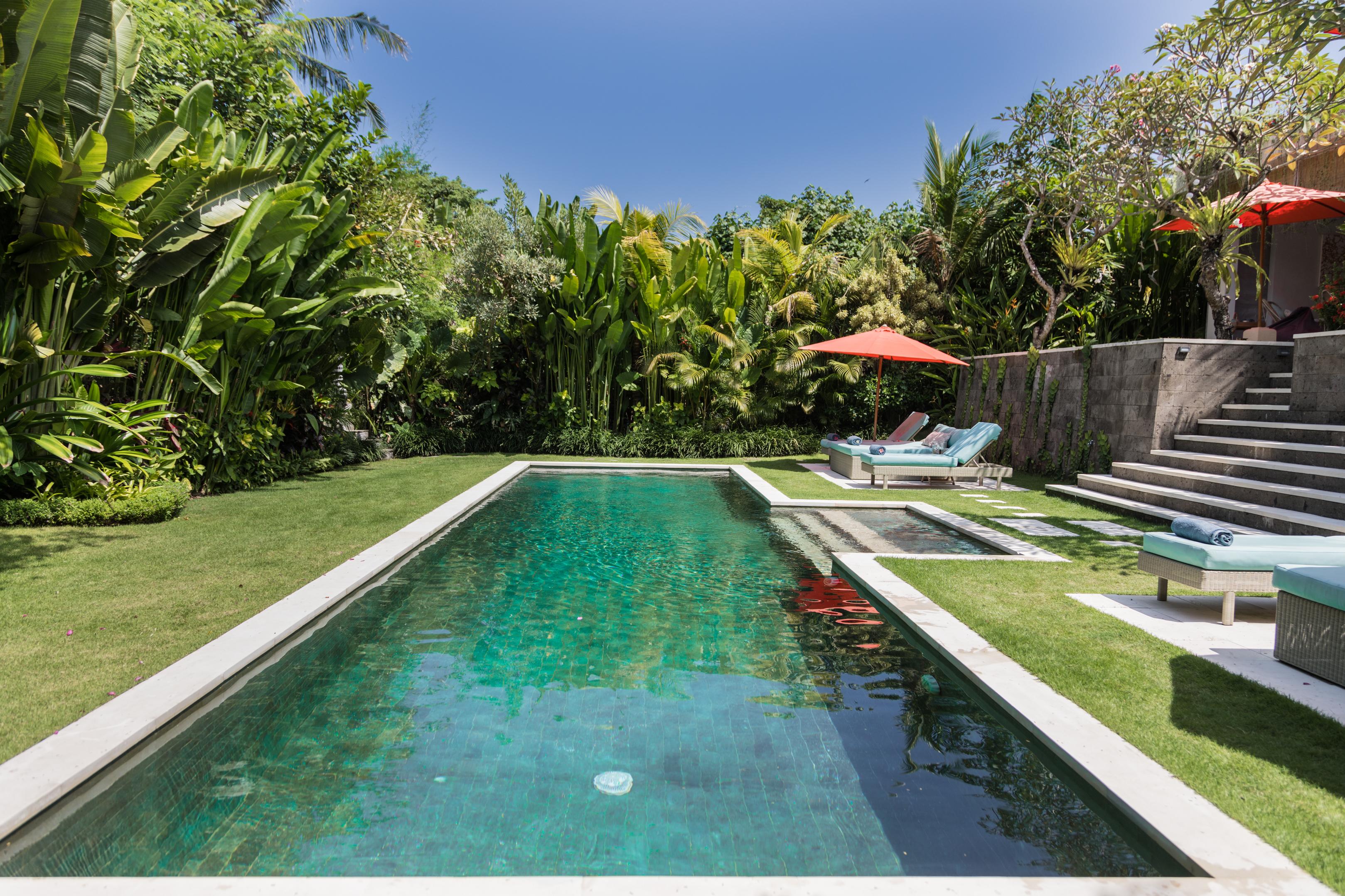 Tropical Garden Pool