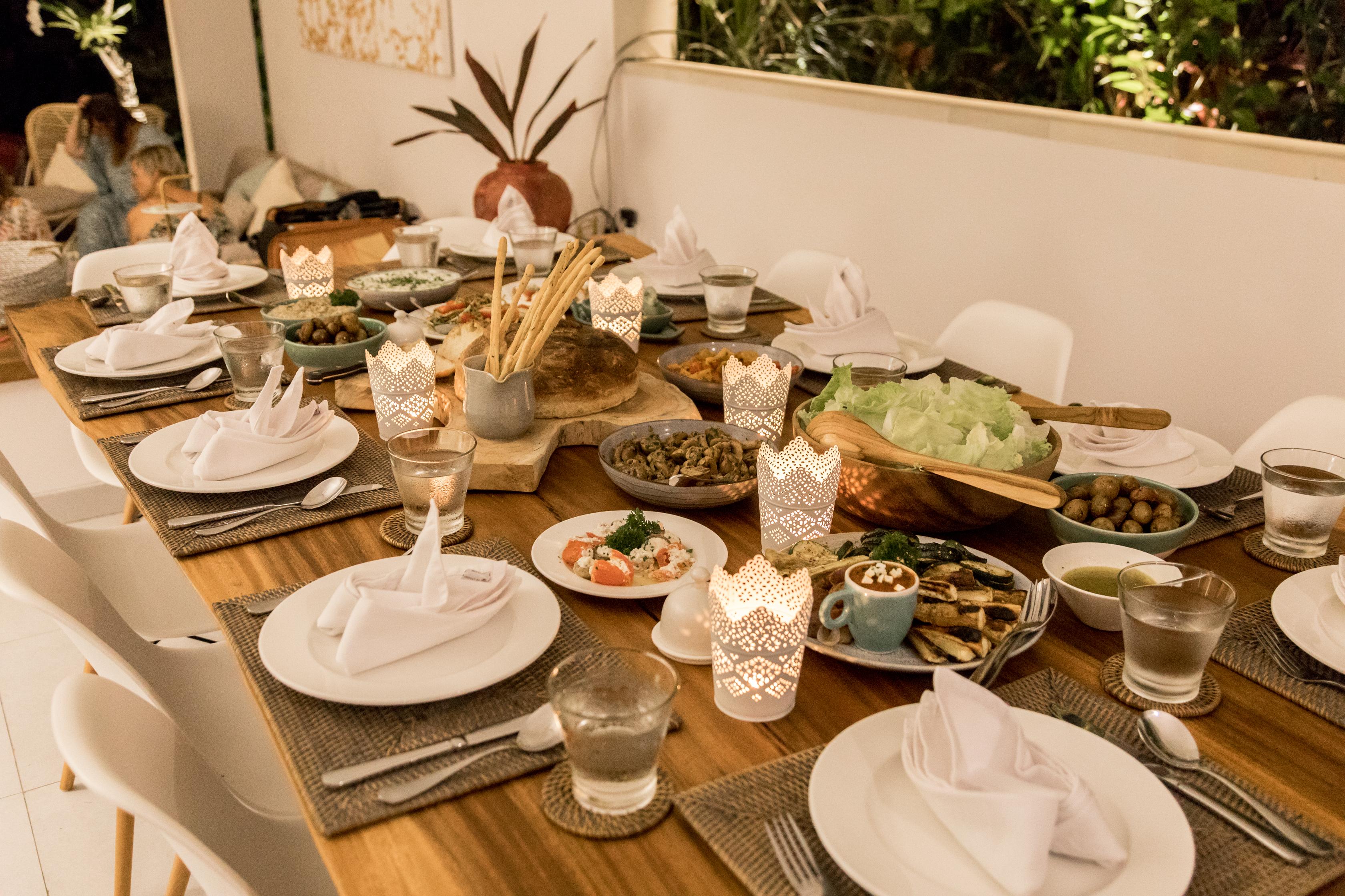 In-Villa Dining Service