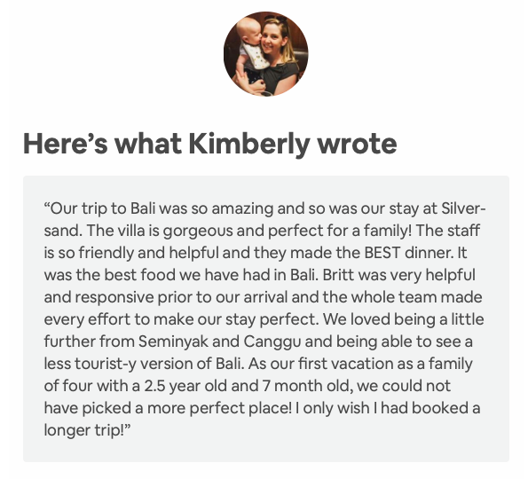 Kimberly AirBnB