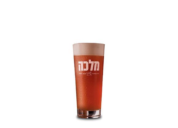 כוס בירה זכוכית מלכה
