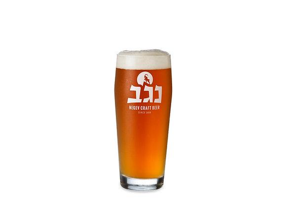 כוס בירה זכוכית נגב