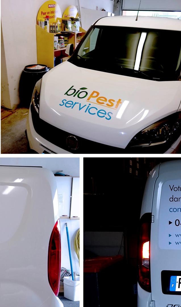 graphisme - Adhésif véhicule - écologique sans PVC