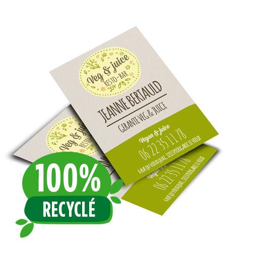 Flyer 100% papier recyclé