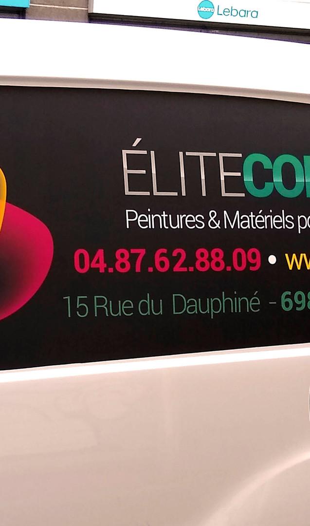 graphisme - Adhésif véhicule - Elite Colors