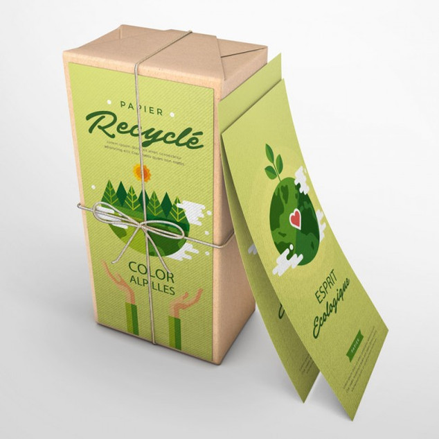 packaging/emballage écologique