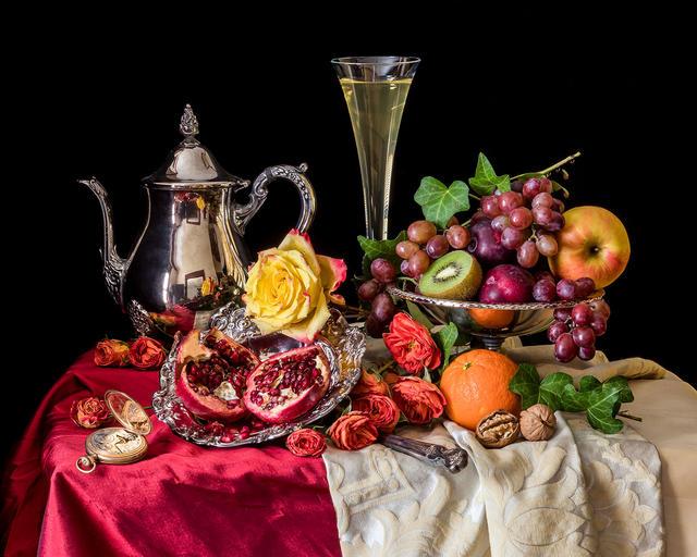 Wine and Pomegranates