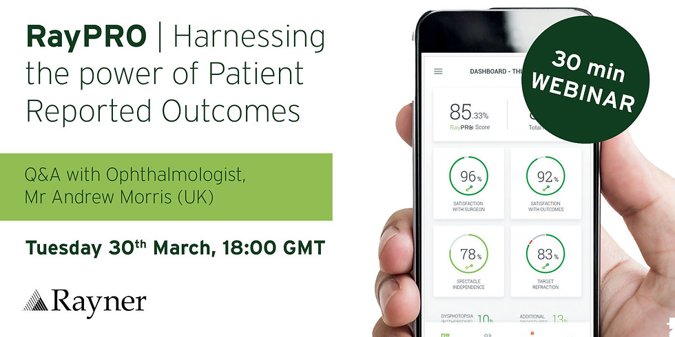 RayPRO - Harnessing the power of Patinet Reported Outcomes