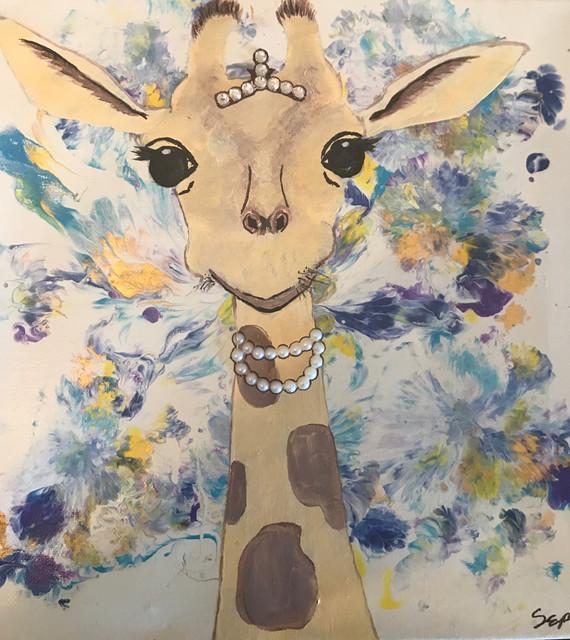 Giraffe Princess