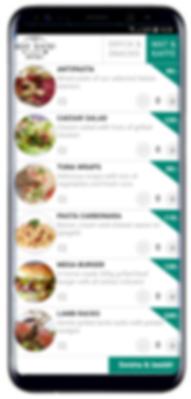mobil order restaurang beställ mat dryck paidit