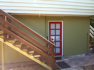 Painting House exterior Eagle Heights Gold Coast before & After