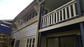 Queenslander Guanaba Road Tamborine Mountain exterior repaint