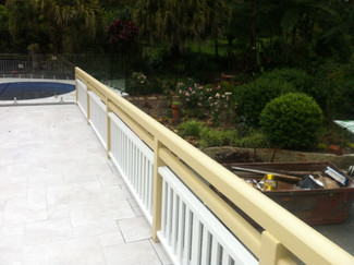 Balustrade painting Gold Coast
