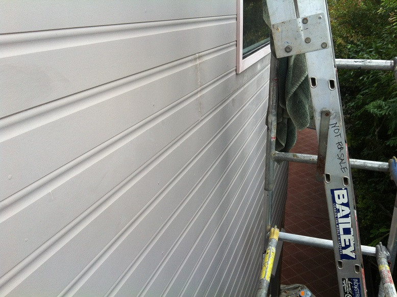 painted weatherboards