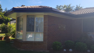 Soffits, gutter and facia repaint Tamborine Mountain