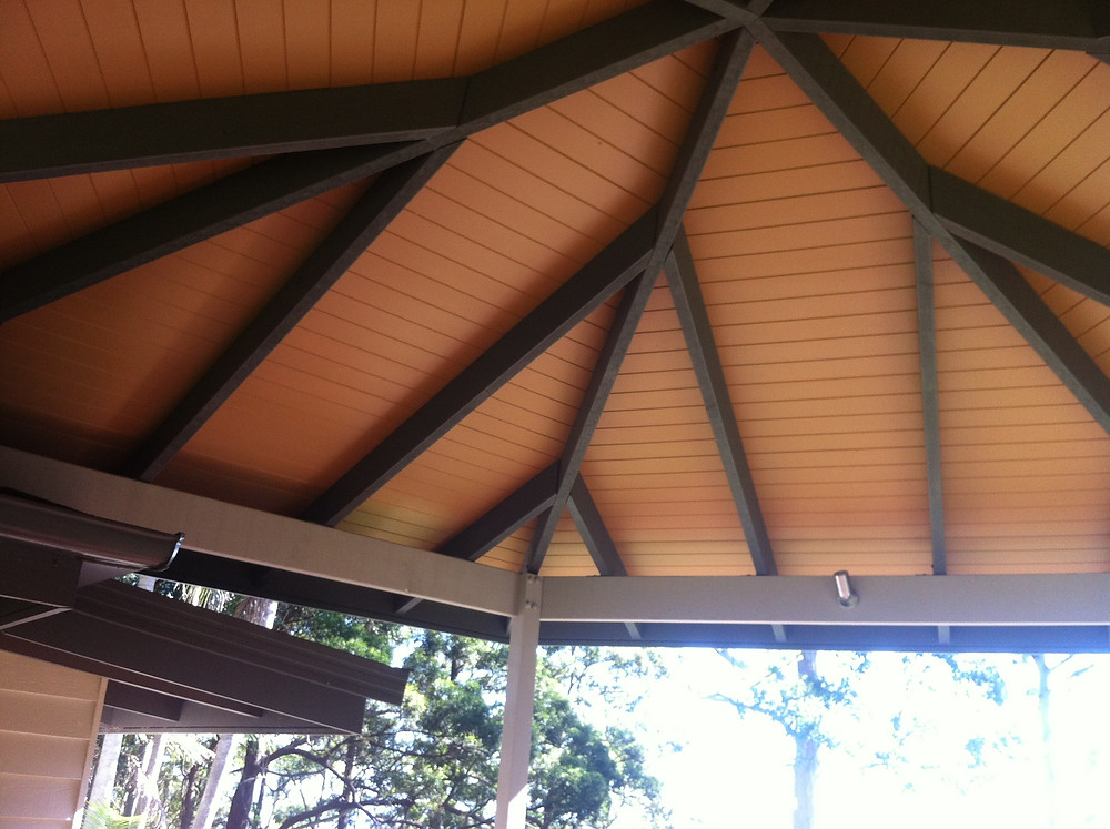 ceiling cabots timber colour in light cedar