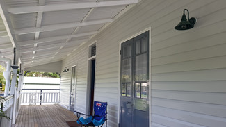 140 year old Queenslander Canungra repaint interior and exterior