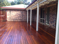 Pergola & deck finish
