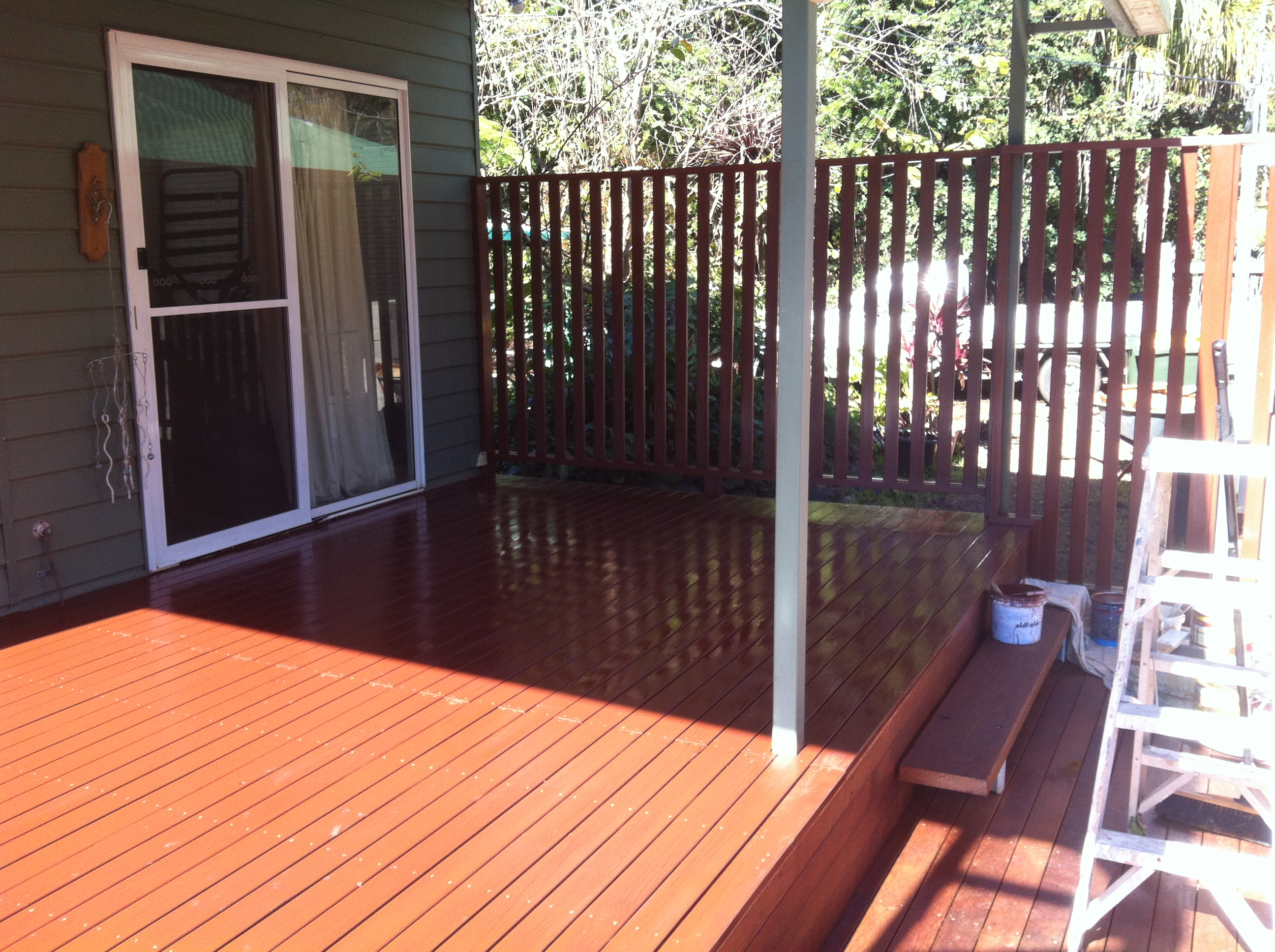 Deck & privacy screen