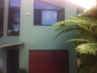 Painting exterior of house in Golf Course Mount Tamborine