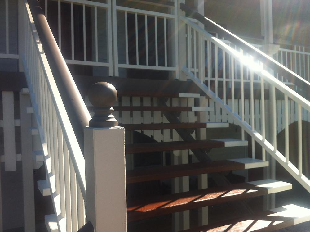 Ballustrade & stairs