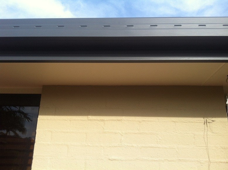 Colourbond ironstone in Dulux weathershield