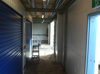 Painting interior of Storage King Southport