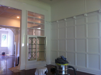 Interior repaint 1920's house Tamborine Mountain.