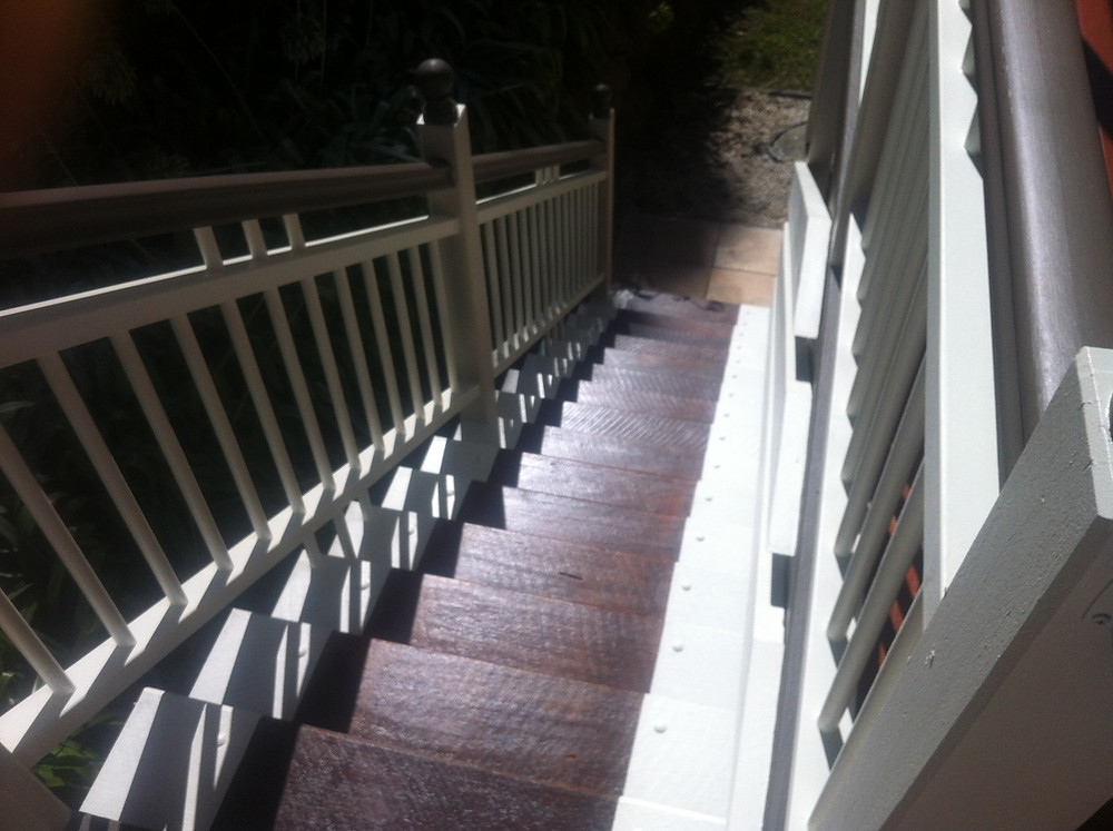 Stairs DWD with promised land trim