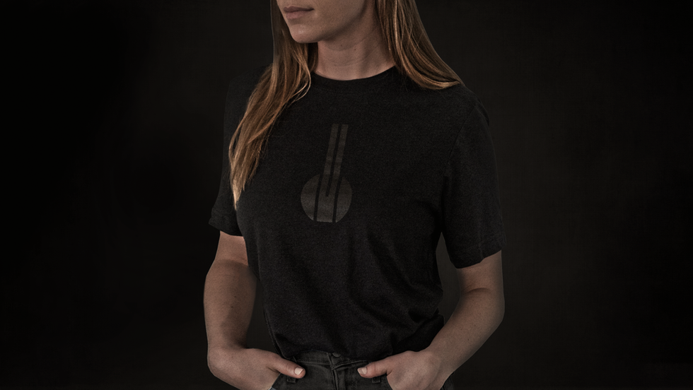 Black Rabbit Triblend Unisex T-Shirt