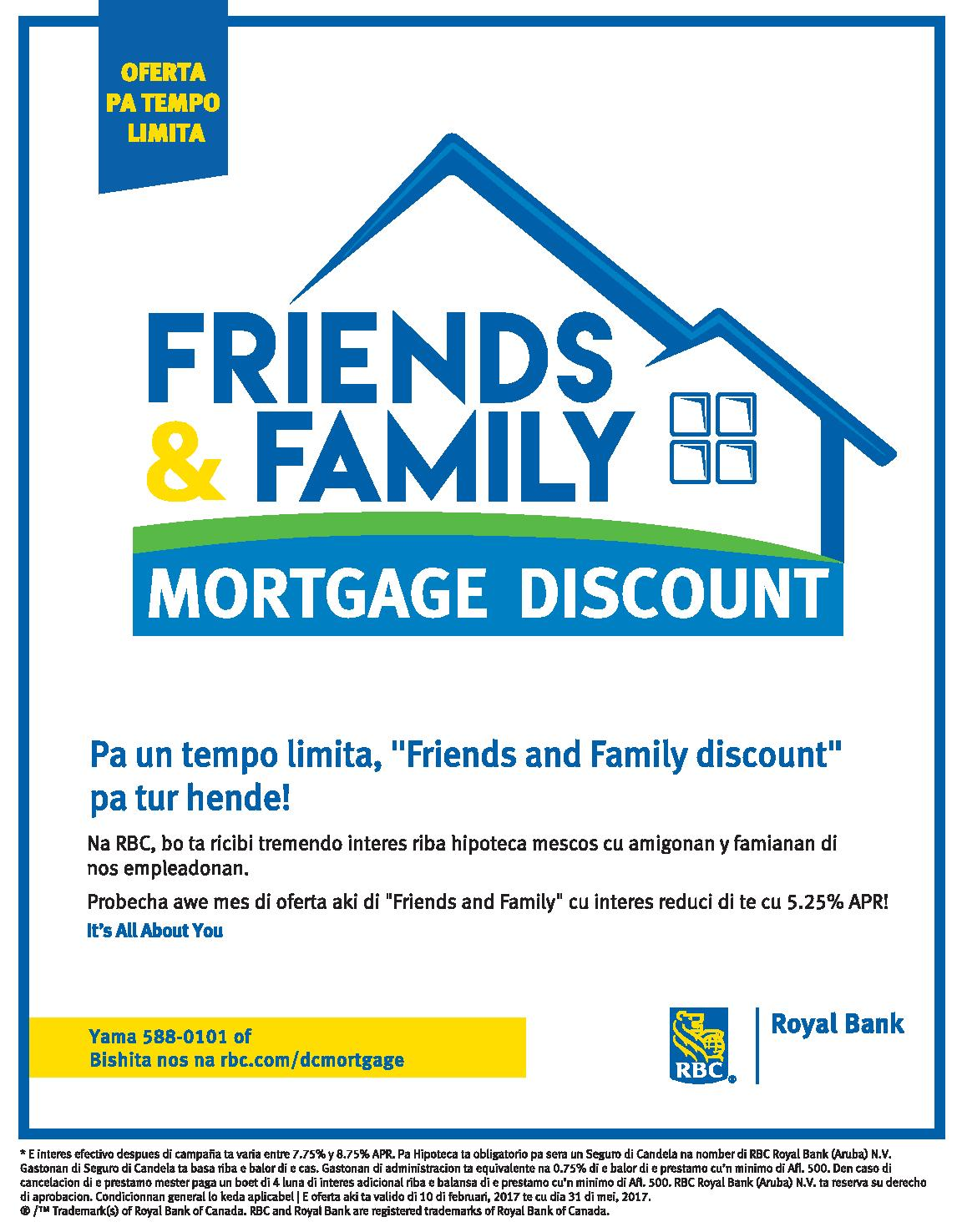 RBC Friends & Family Mortgage Discount | fngv