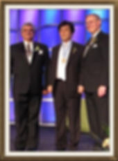 ITS Society long-time members Tsuneo Takahashi is awarded the IEEE Medal in 2013.