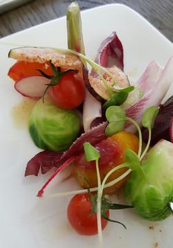 Endive Heirloom Salad