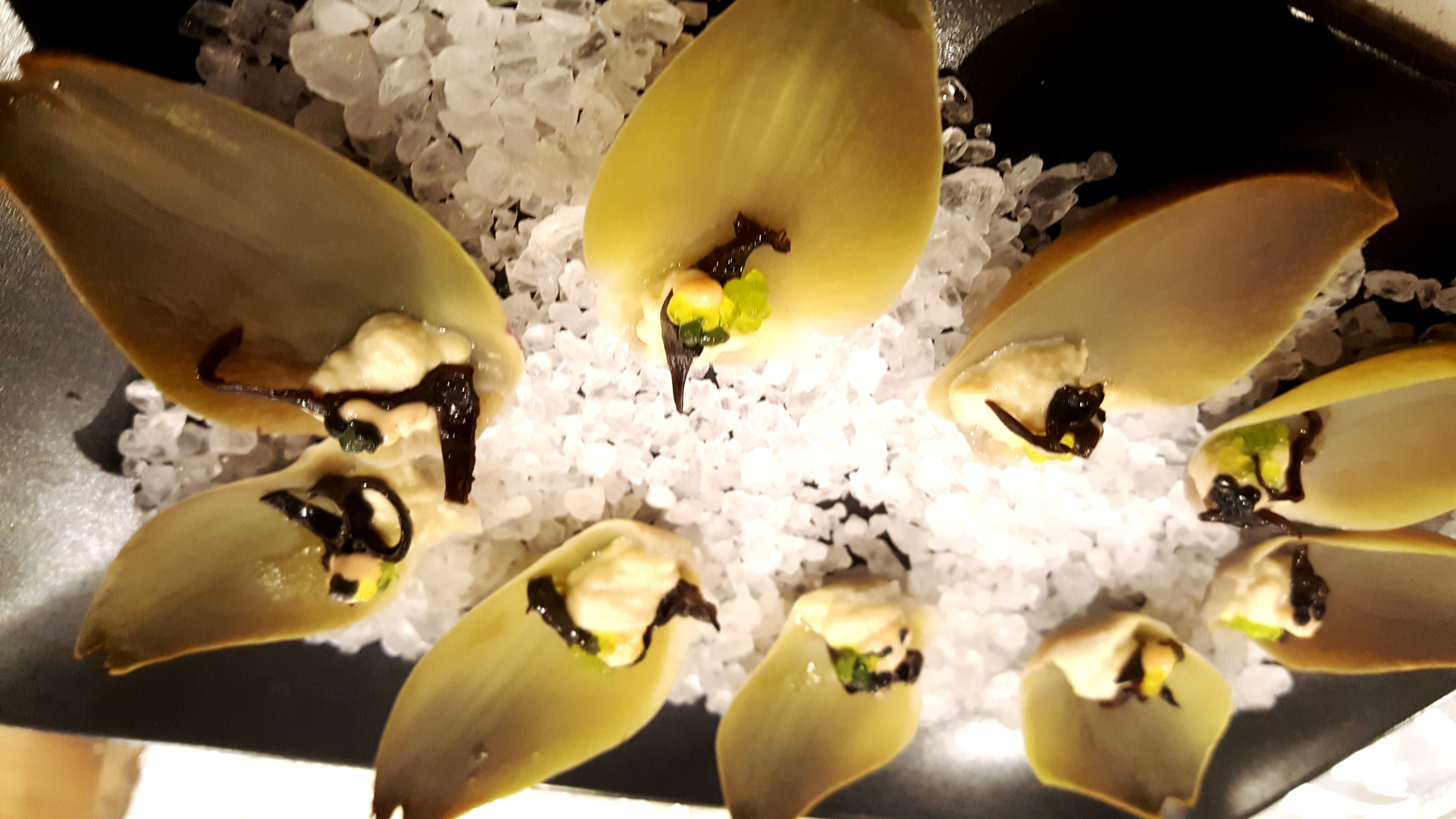 Vegan Artichoke Oysters with Wasabi