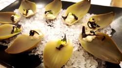 Vegan Artichoke Oysters with Wasabi