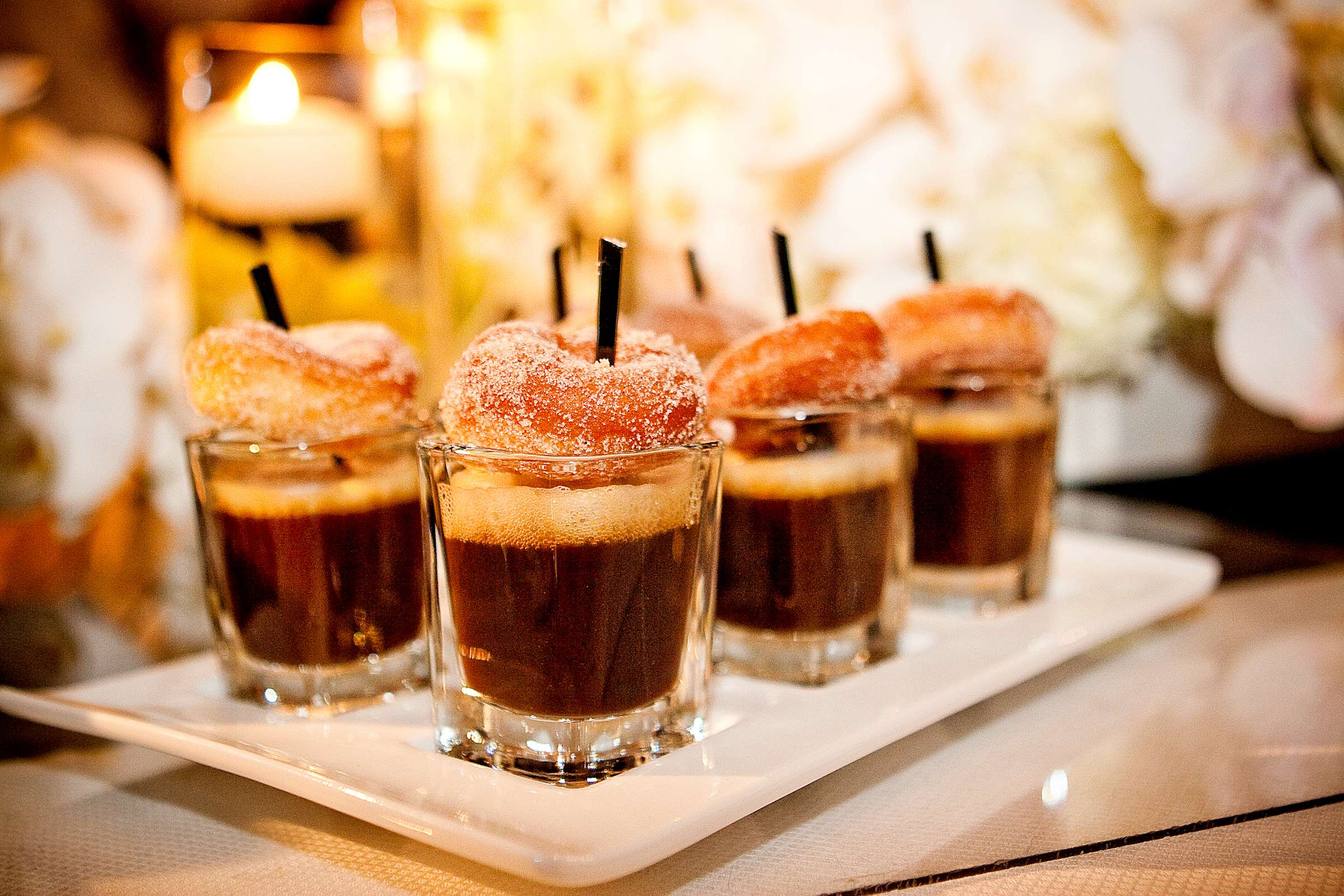 coffee & donuts shot
