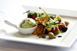 roasted veggie plate
