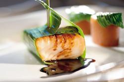 chilean sea bass balsamic reduction