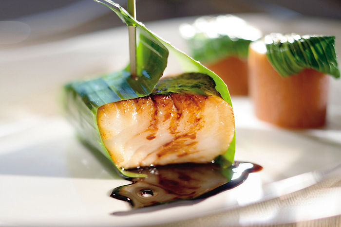 chilean sea bass & balsamic reductio