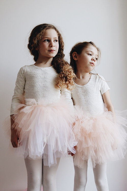 Short puffy tulle