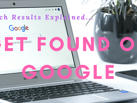 Get Found on Google - Search Results Explained