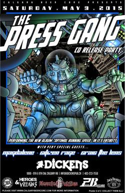 Promotional Poster. Illustration