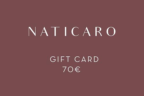 70 - Gift Card