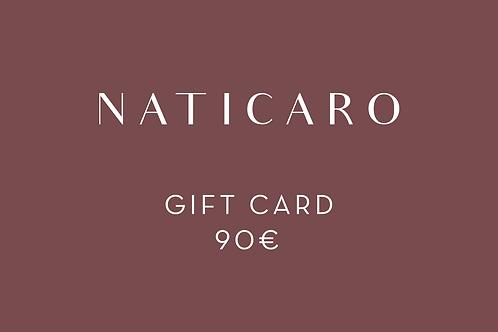 90 - GIFT CARD