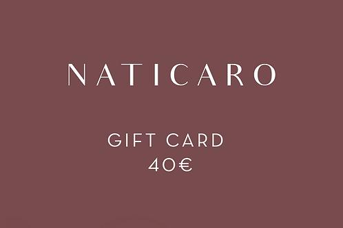 40 - Gift Card